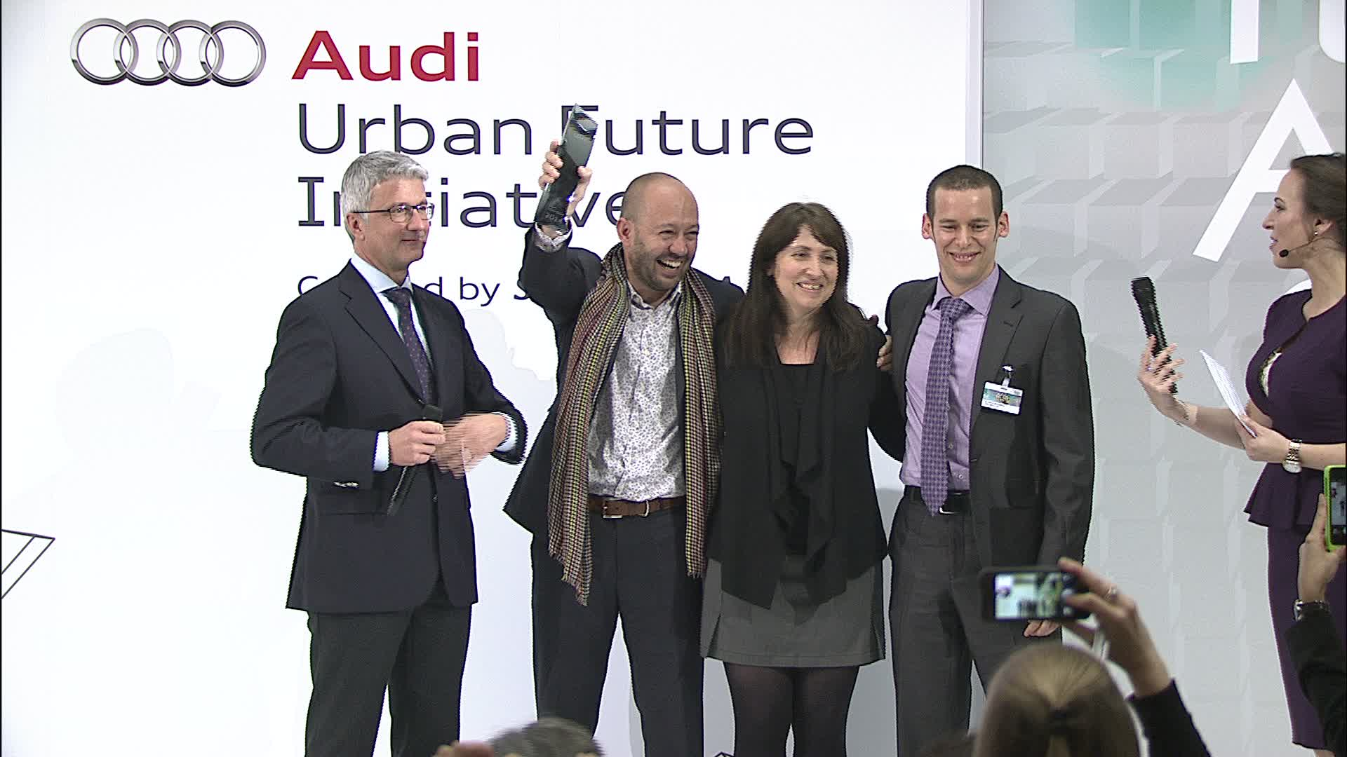 Audi Urban Future Award - Preisverleihung 2014