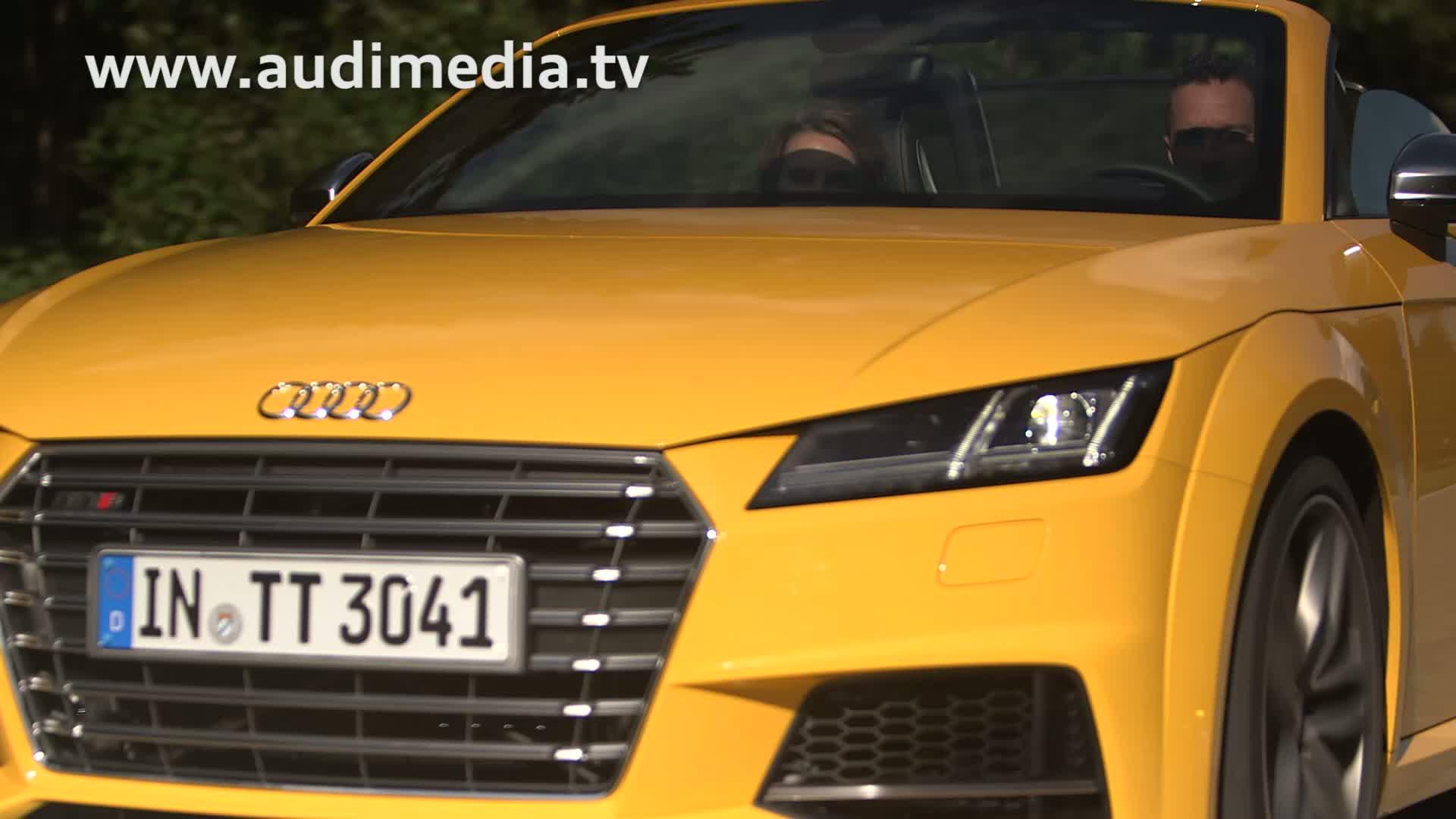 Der erste Fahrbericht im neuen Audi TTS Roadster - Teaser