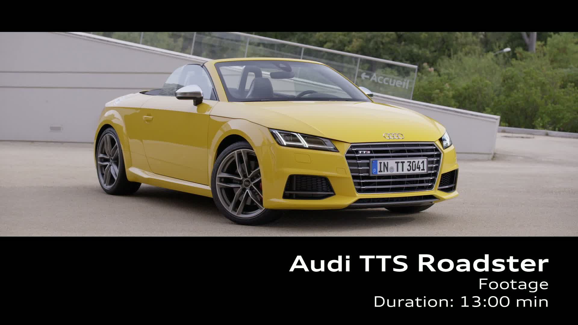 Der TTS Roadster - Footage