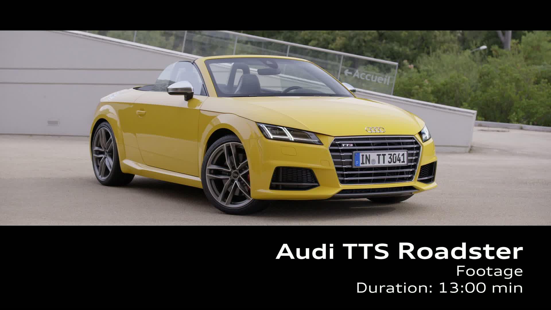 Der TTS Roadster - Footage