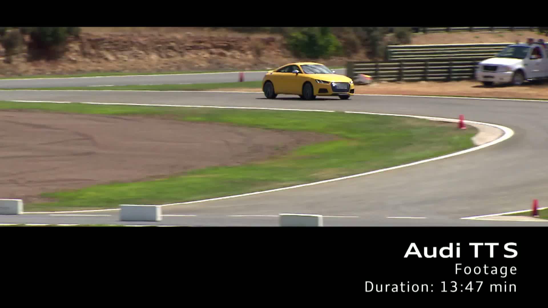 Das Audi TTS Coupé - Footage