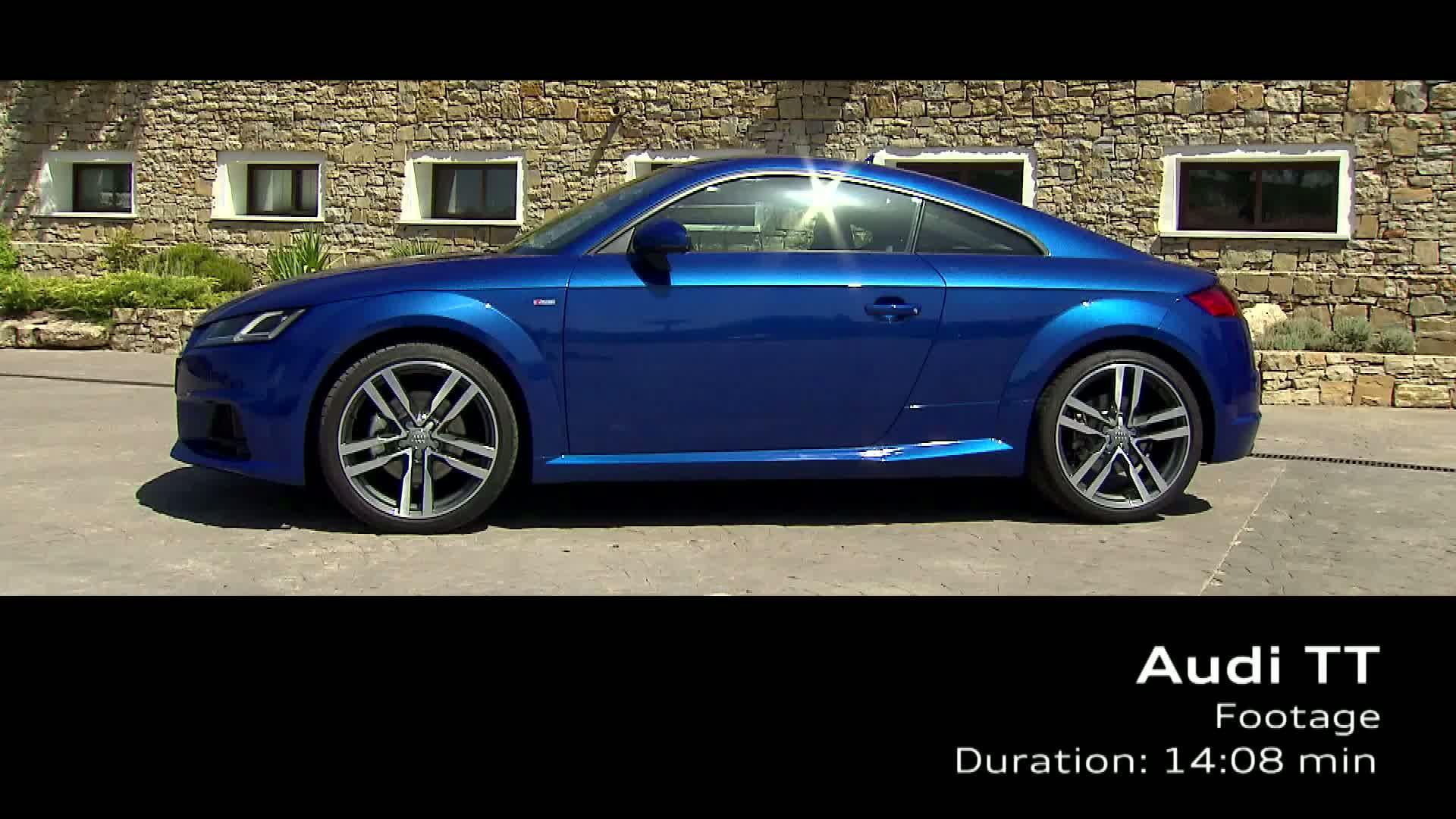 Das Audi TT Coupé - Footage