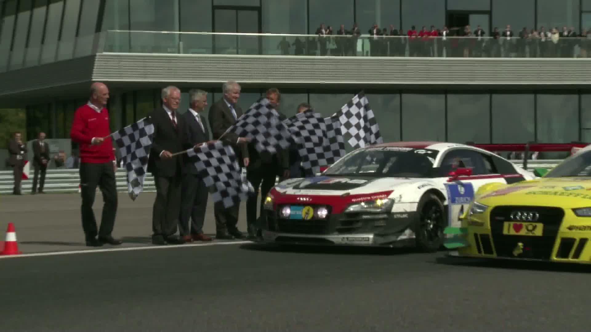 Audi eröffnet Hightech-Areal in Neuburg