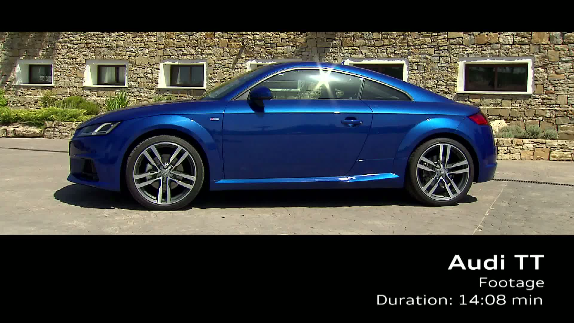 The Audi TT Coupé - Footage
