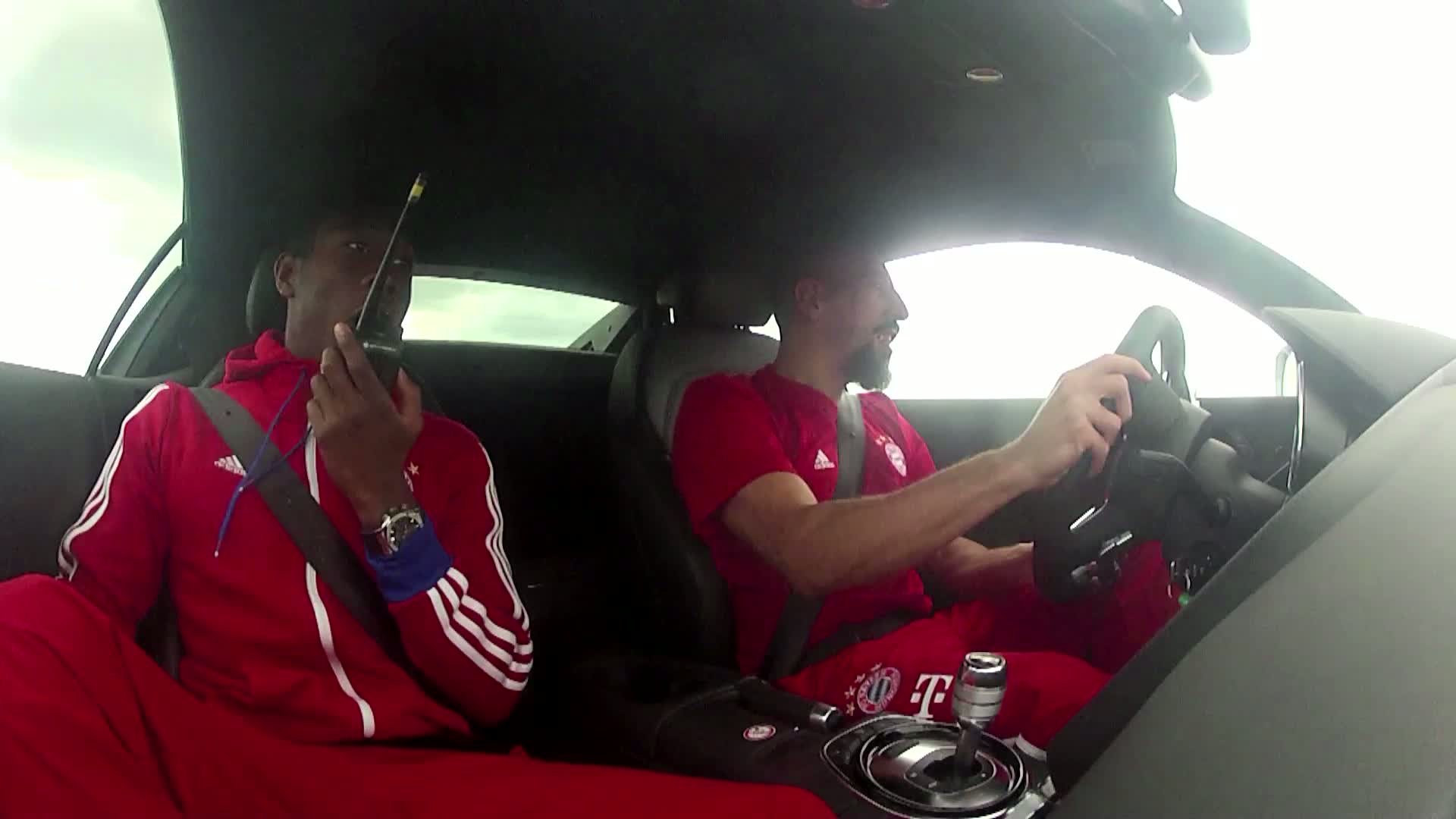 Driving experience day for FC Bayern Munich