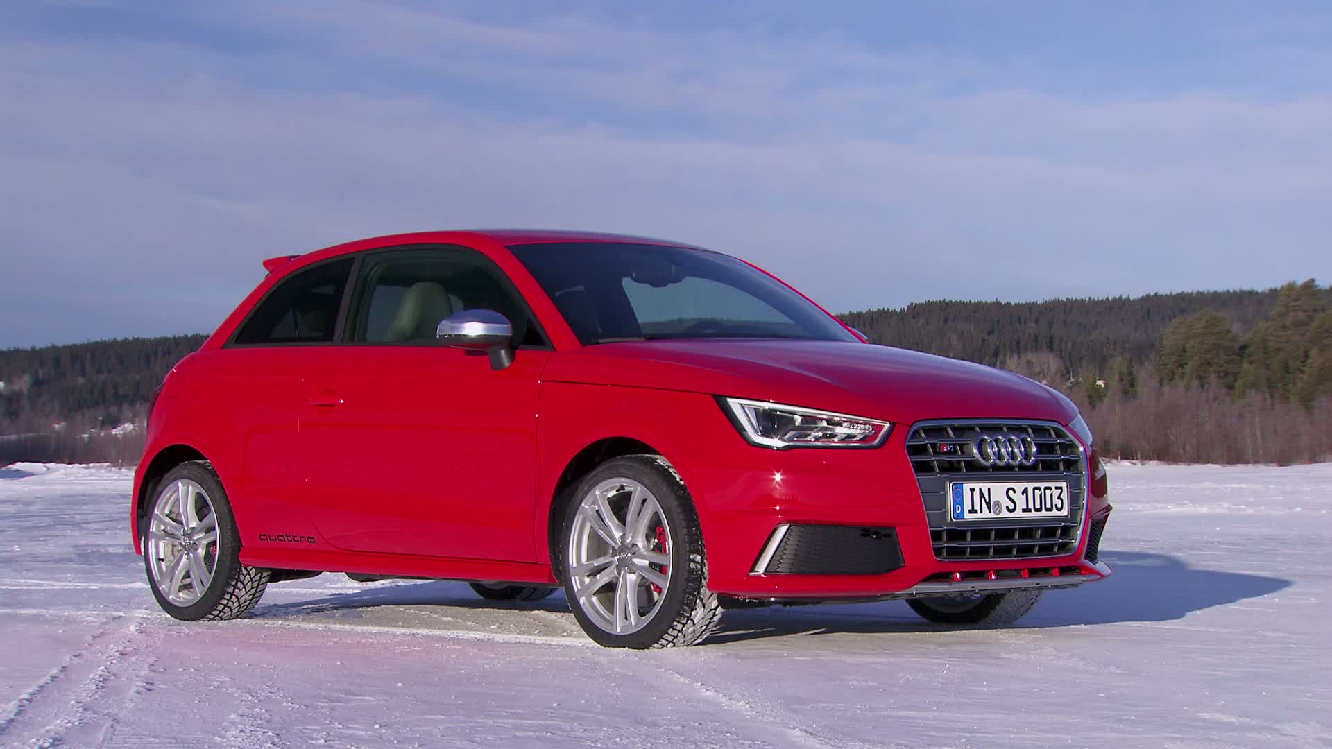 The Audi S1 - Footage