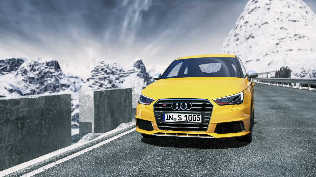 Audi S1 - Animation