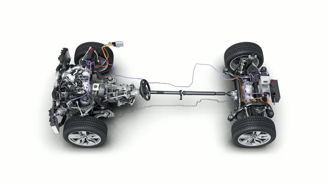 The 48-volt electrical system with electrically powered compressor