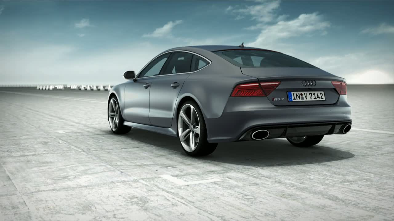 Audi RS 7 Sportback - Animation Dynamic Ride Control