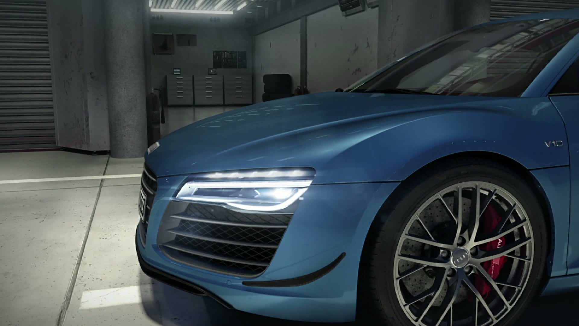 The Audi R8 LMX - Animation