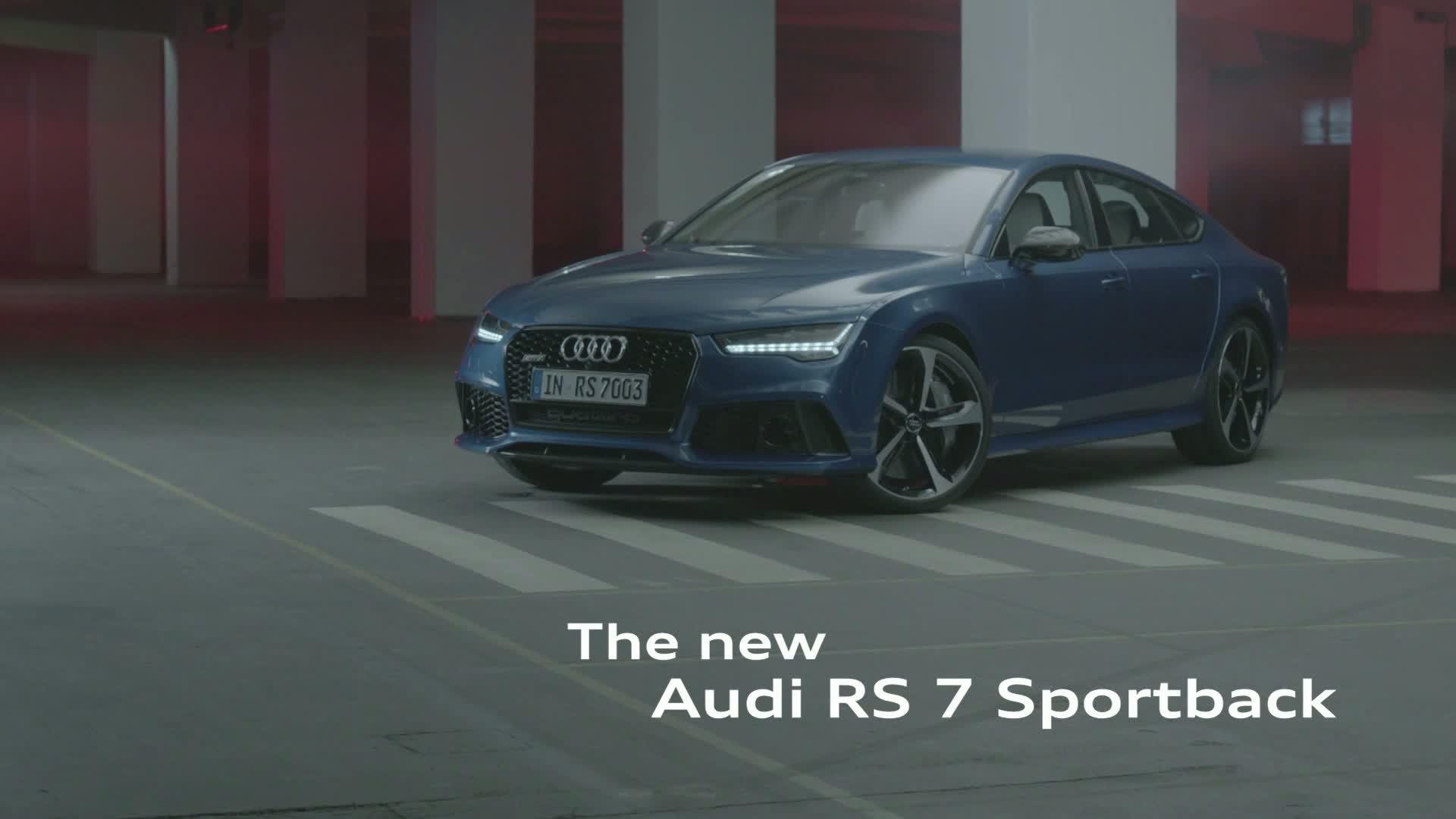 Der Audi RS 7 Sportback - Trailer