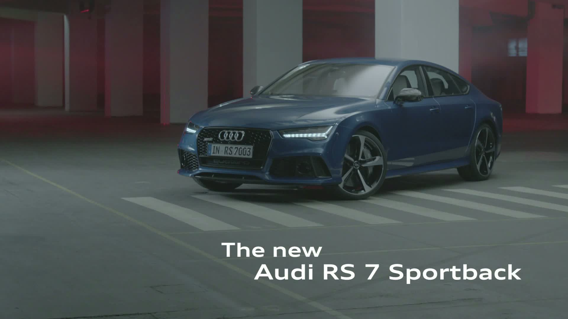 The Audi RS 7 Sportback - Trailer