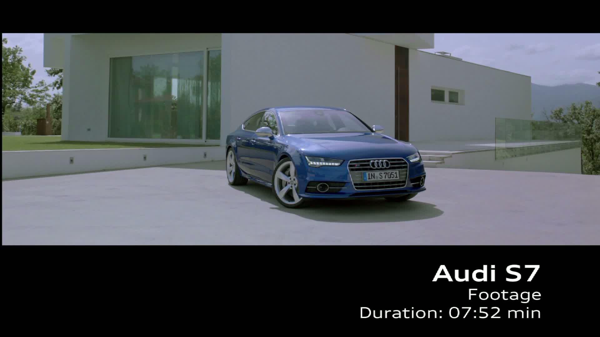 Der Audi S7 Sportback - Footage
