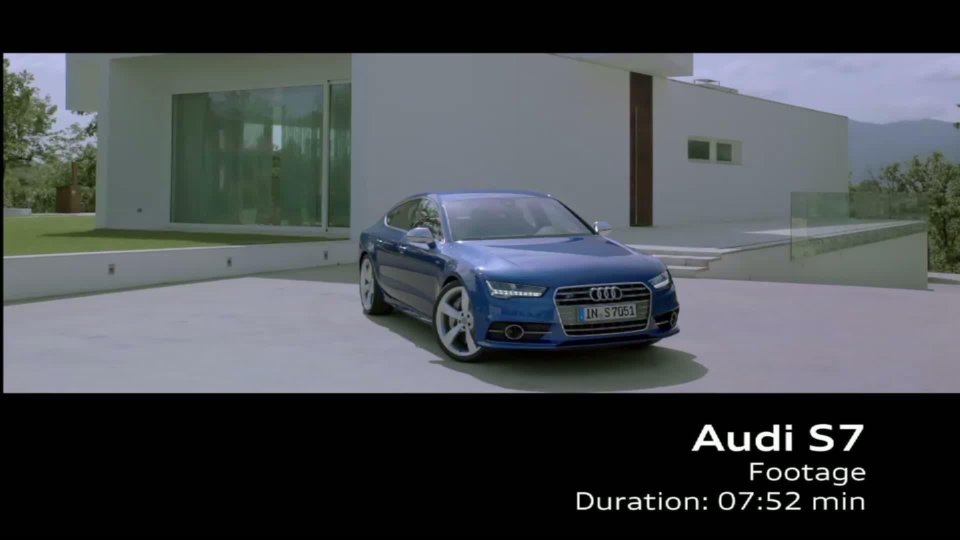 The Audi S7 Sportback - Footage