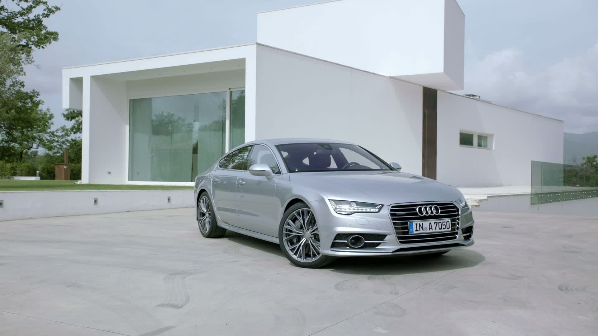 Der Audi A7 Sportback - Footage