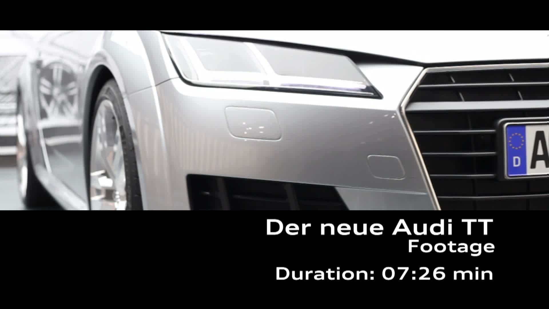 Audi TT Coupé und Audi TTS Coupé Design - Footage