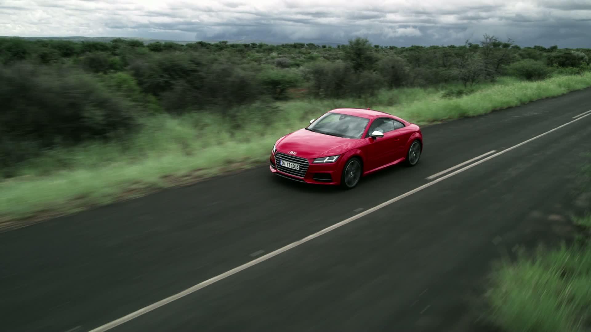 Der Audi TTS Coupé - Footage