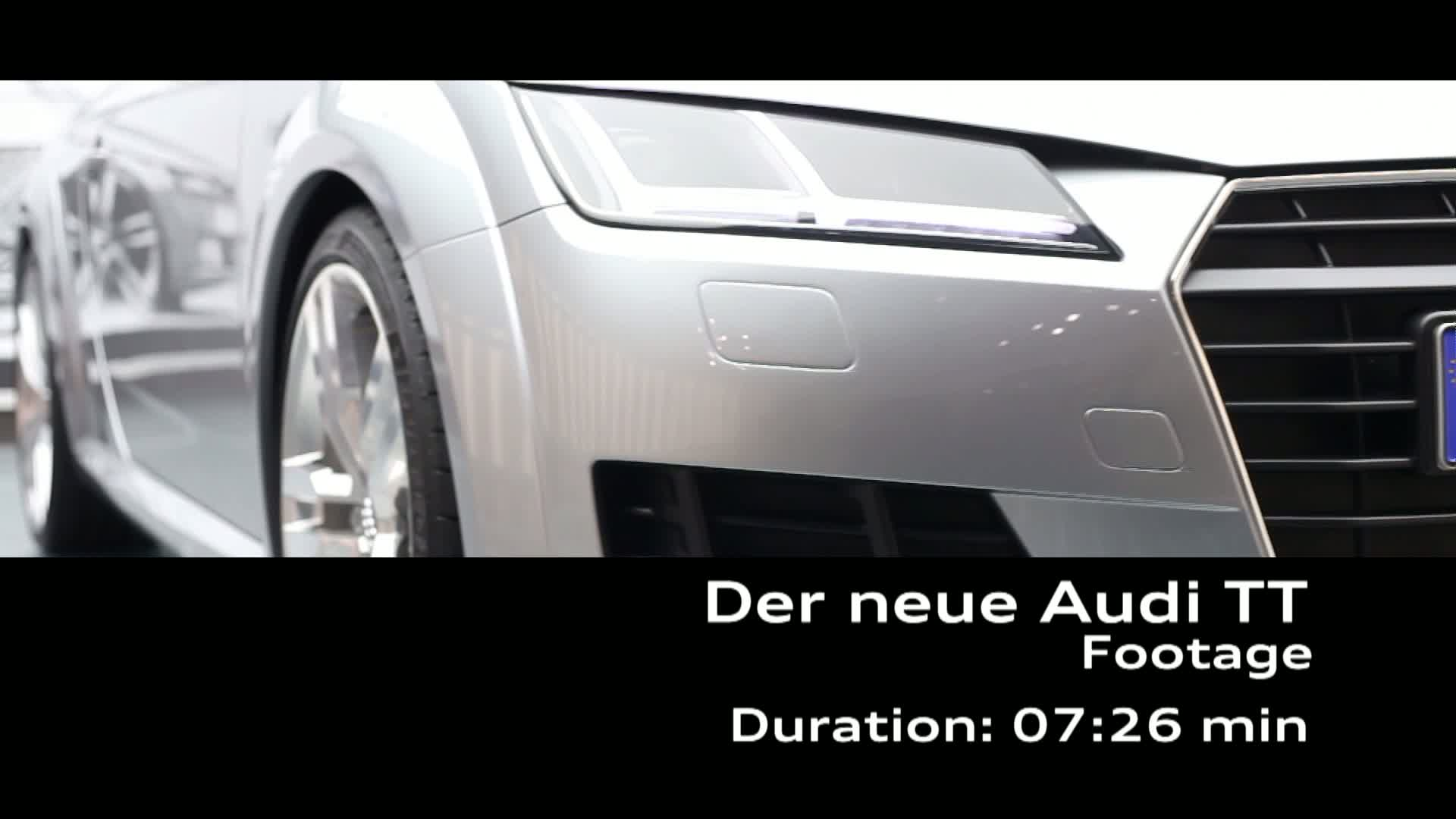 Audi TT Coupé and Audi TTS Coupé Design - Footage