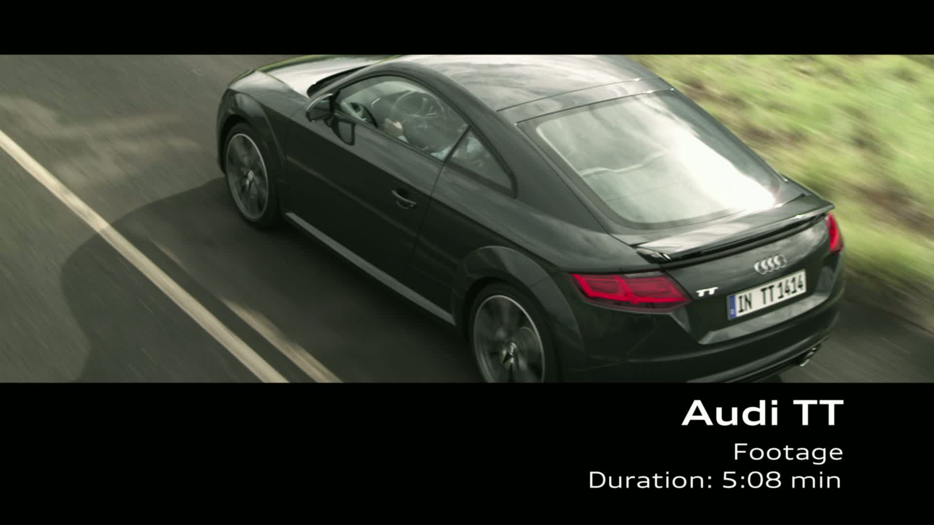 The Audi TT Coupé - Footage