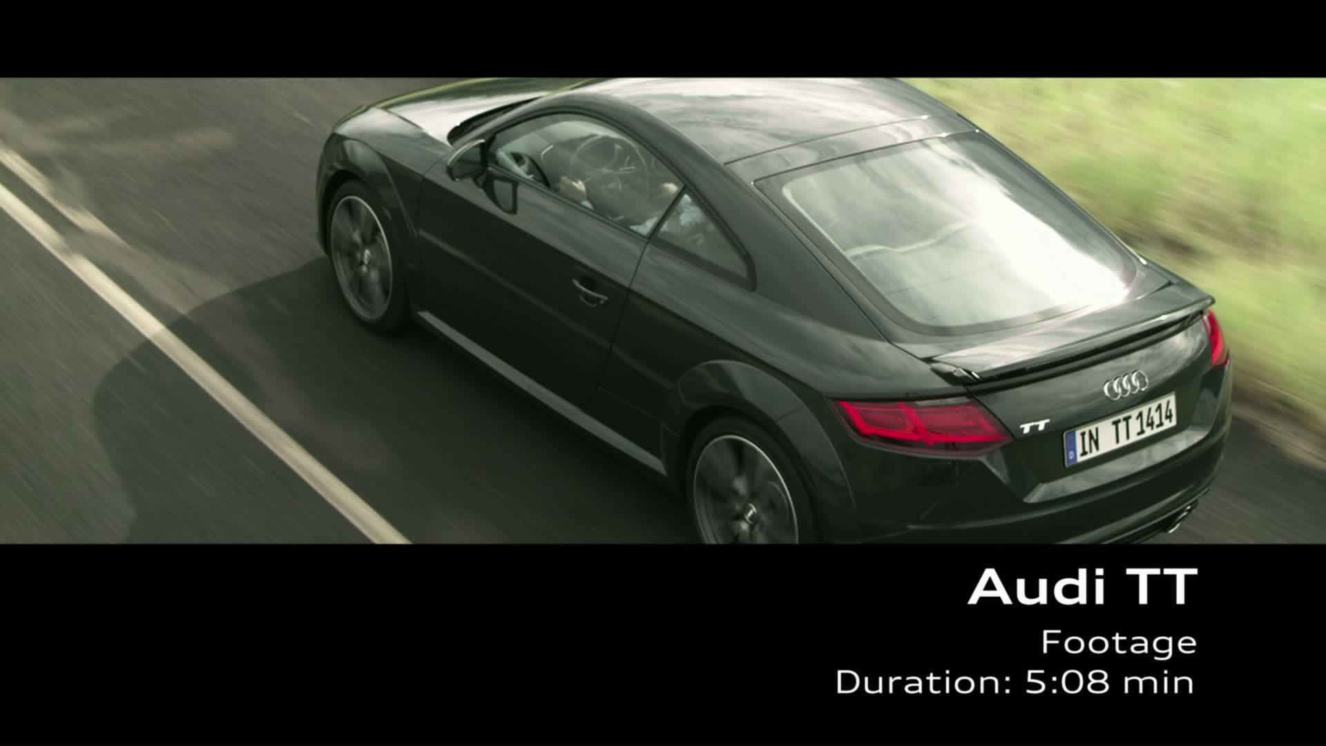 Der Audi TT Coupé - Footage