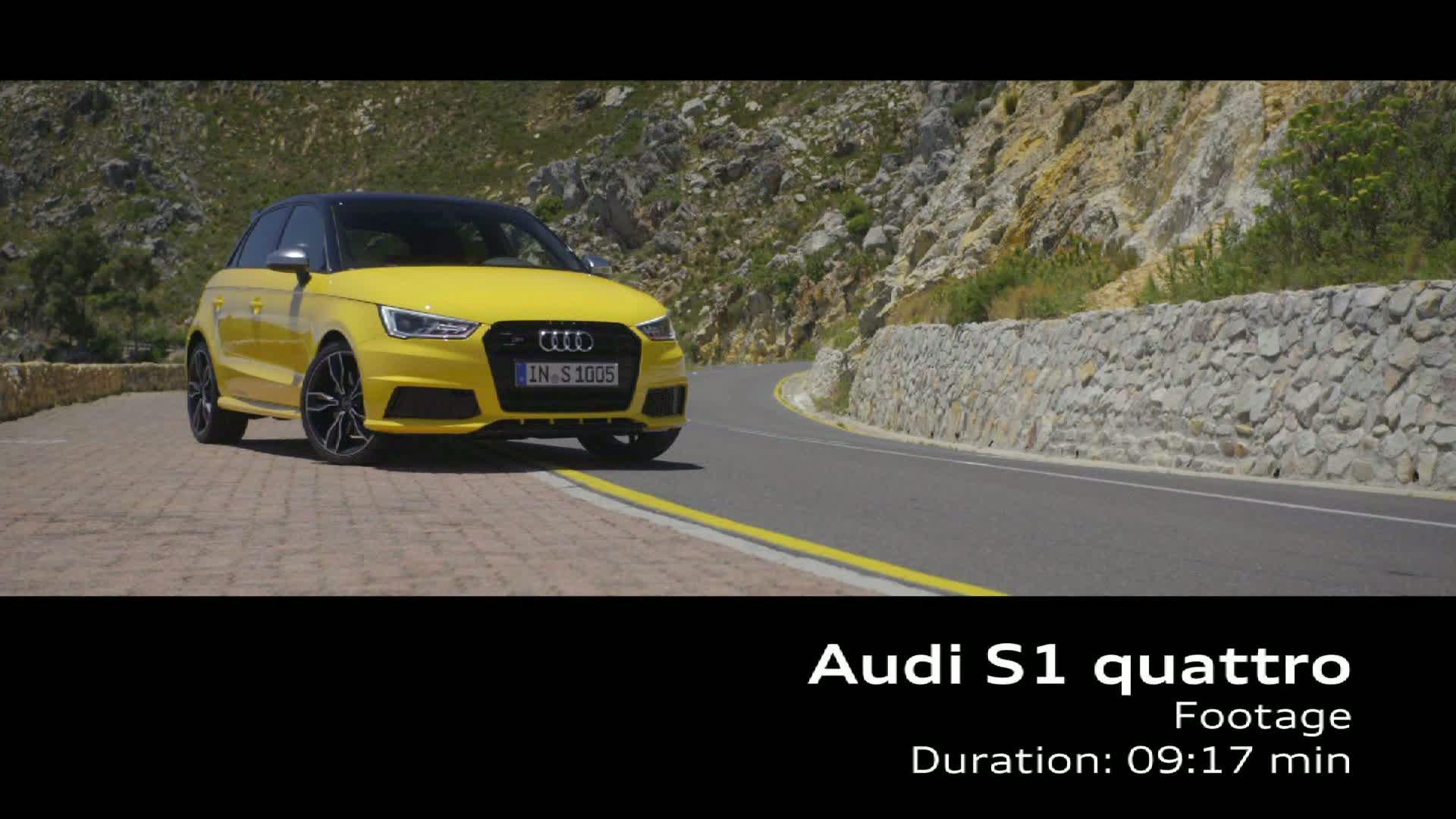 The Audi S1 Sportback