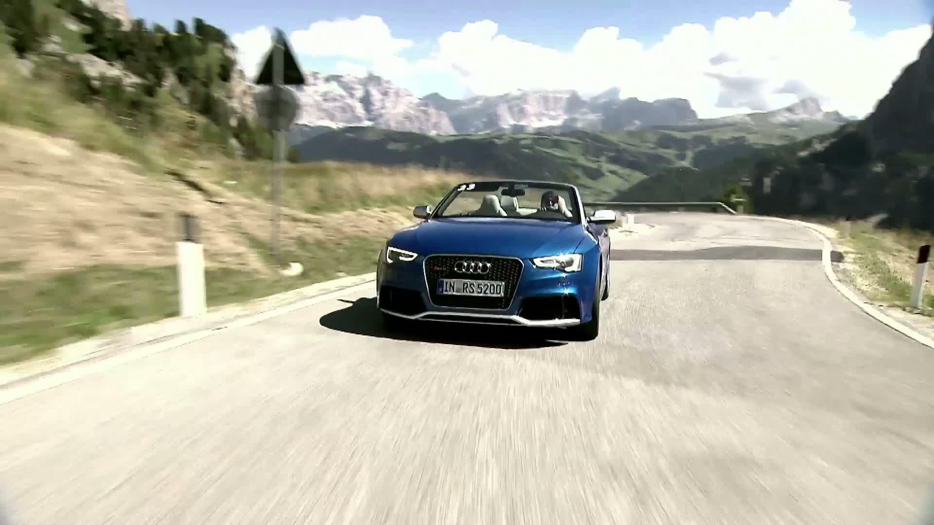 Das Audi RS 5 Cabriolet - Trailer