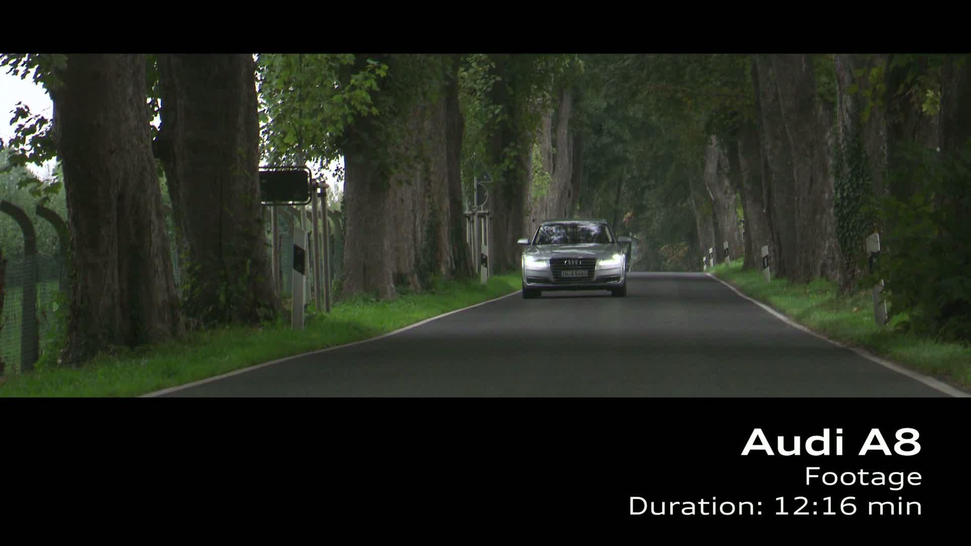 Audi A8 - Footage