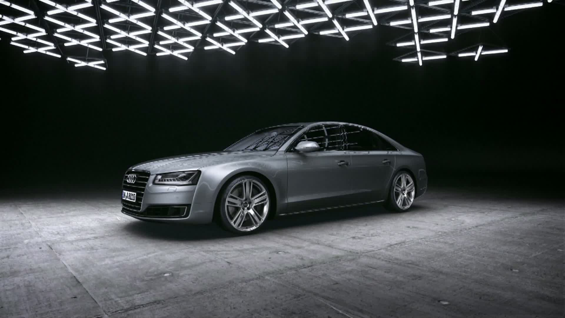 The Audi Space Frame in the new Audi A8