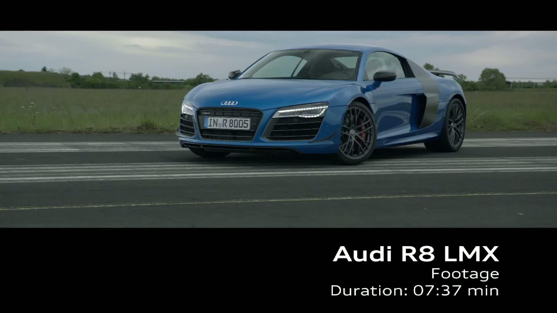 The Audi R8 LMX