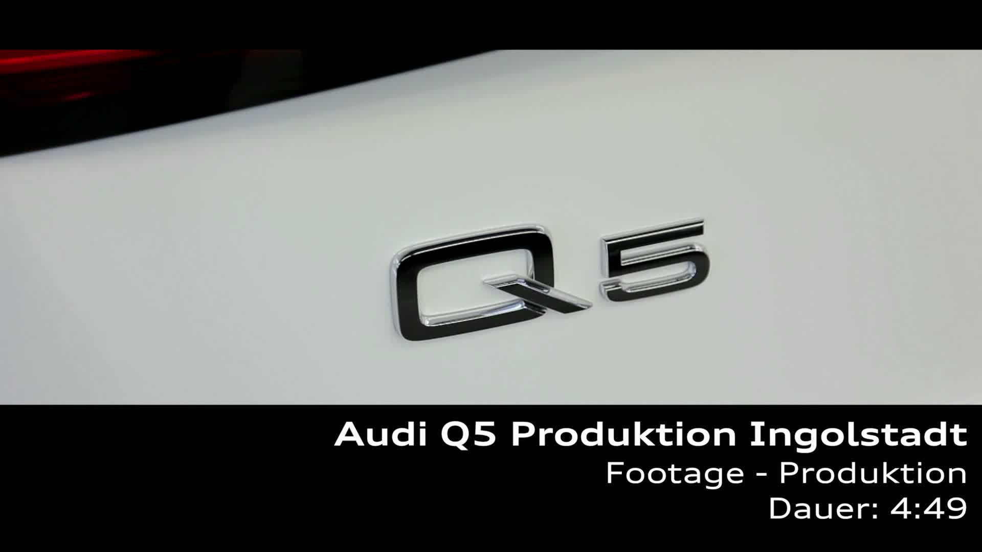 Audi Q5 - Produktion