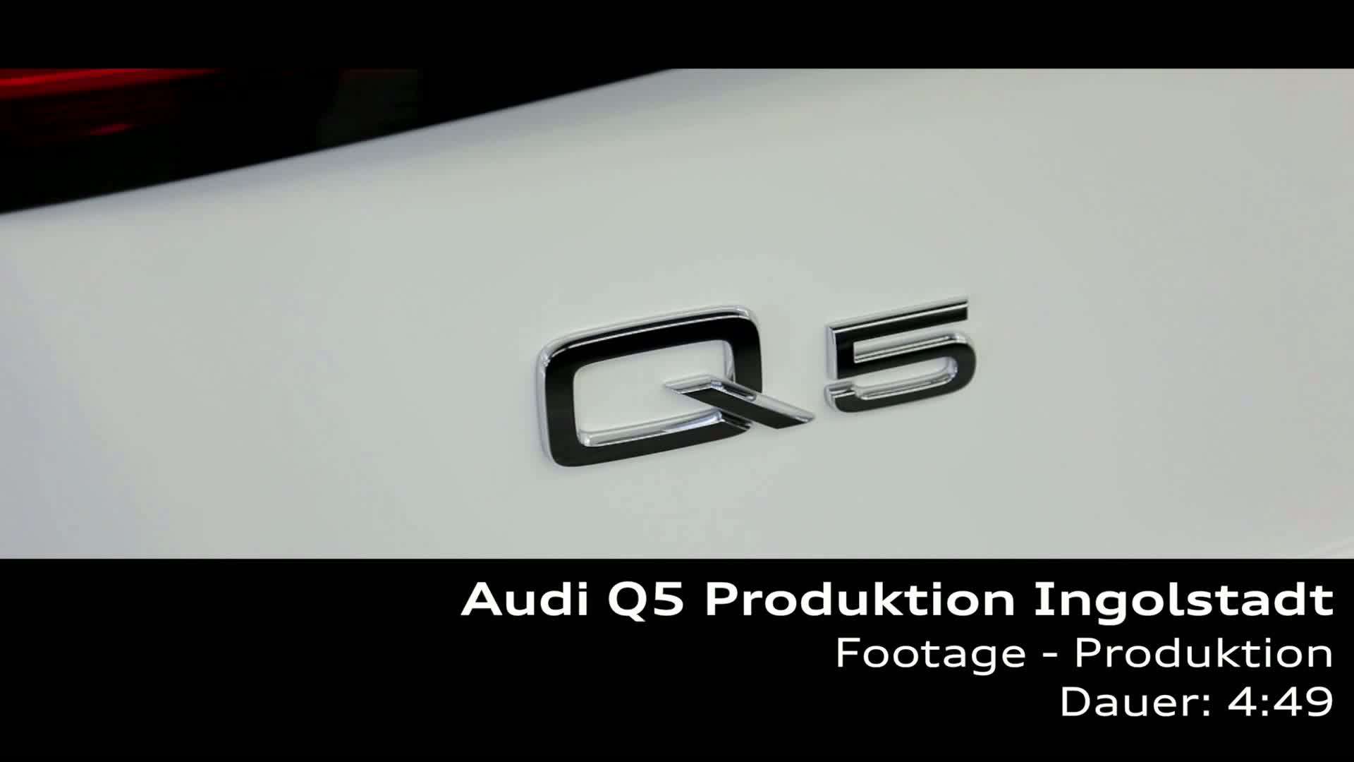 Audi Q5 - production