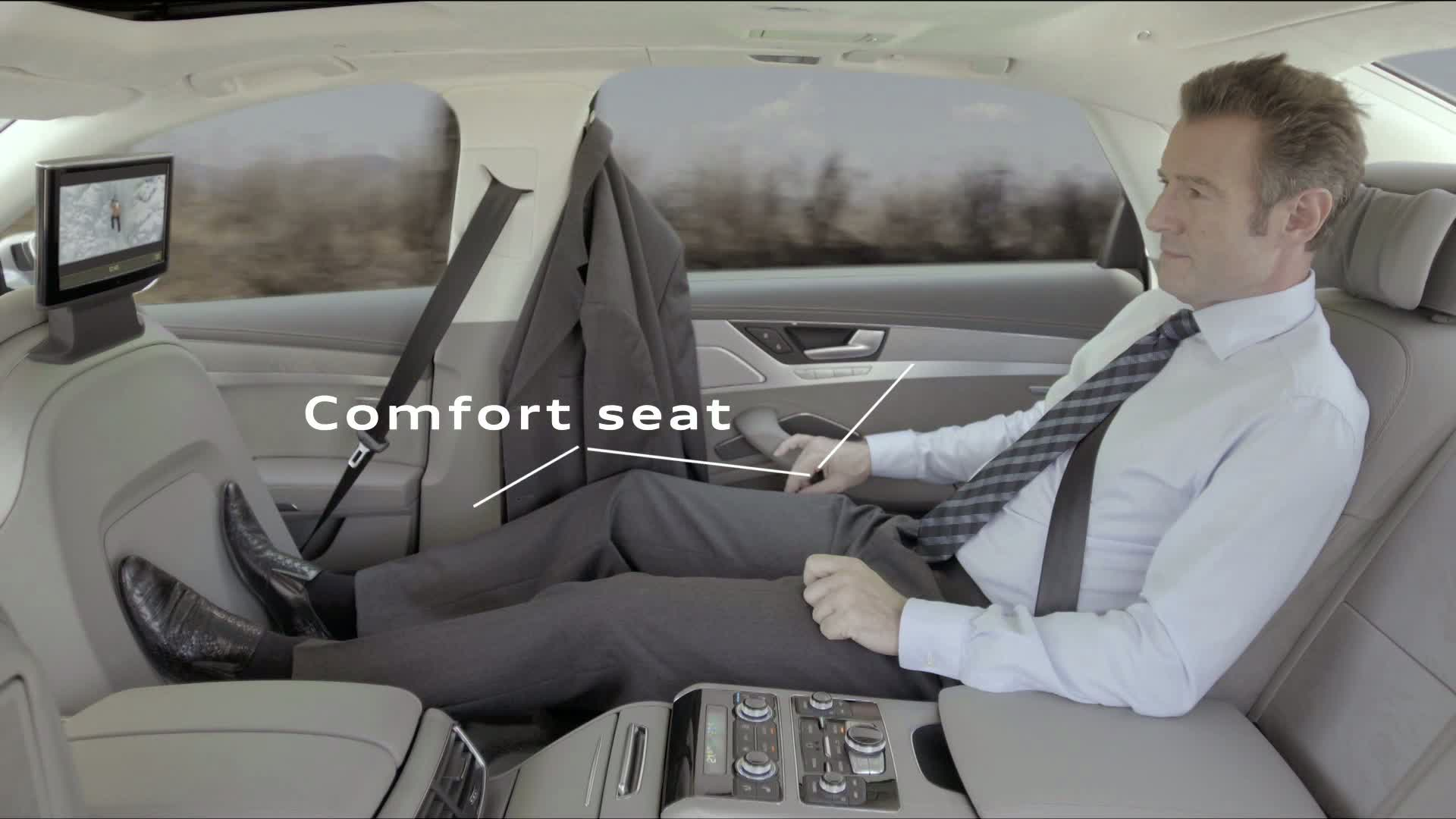 Der Audi A8 - komfortabel reisen