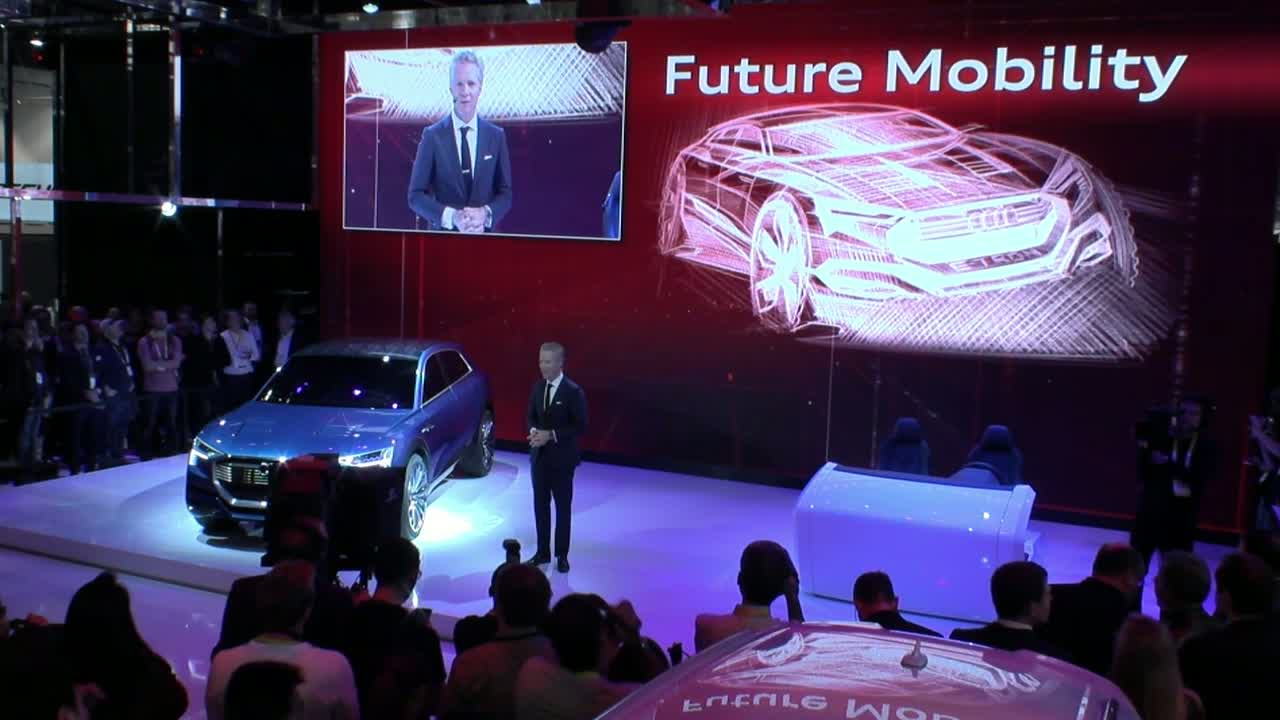 Audi auf der International Consumer Electronics Show 2016