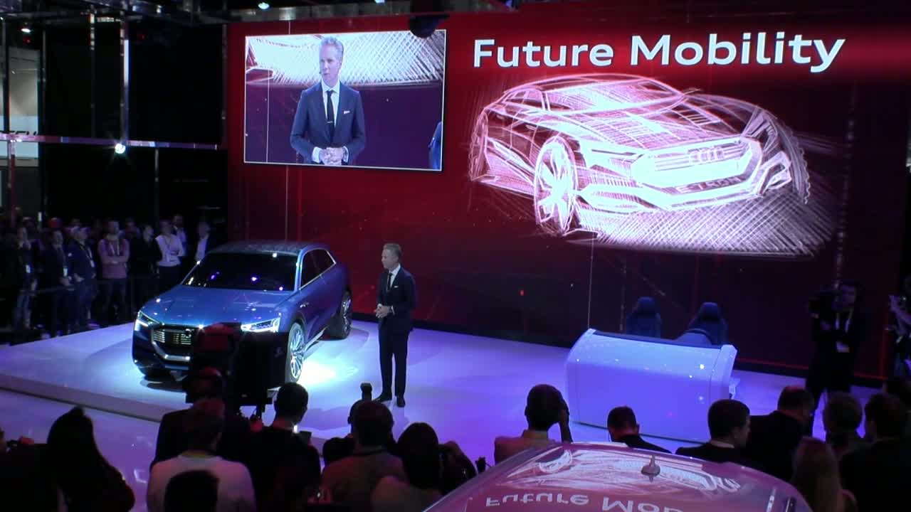 Audi at the 2016 International Consumer Electronics Show