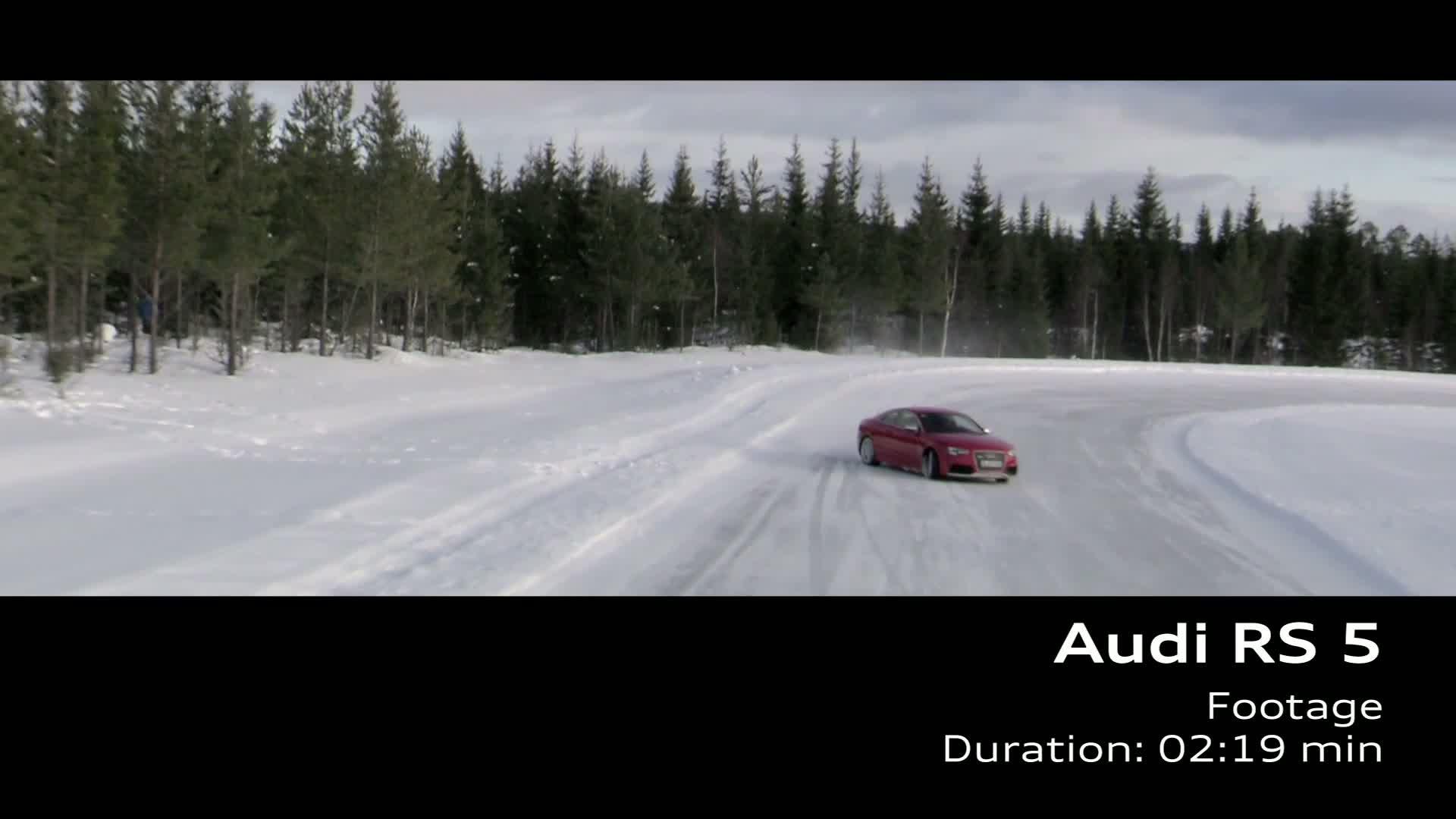 Der Audi RS 5 - Footage Schweden