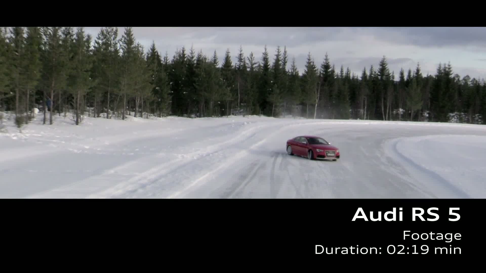 The Audi RS 5 - Footage Sweden