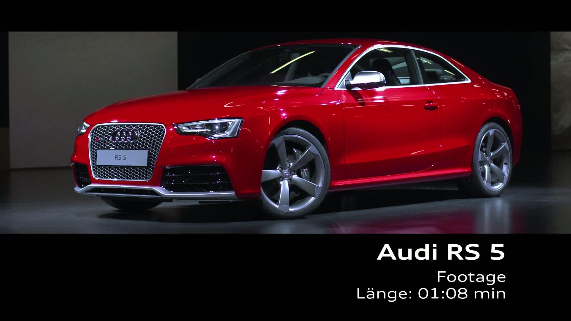 The Audi RS 5 Coupé - Footage