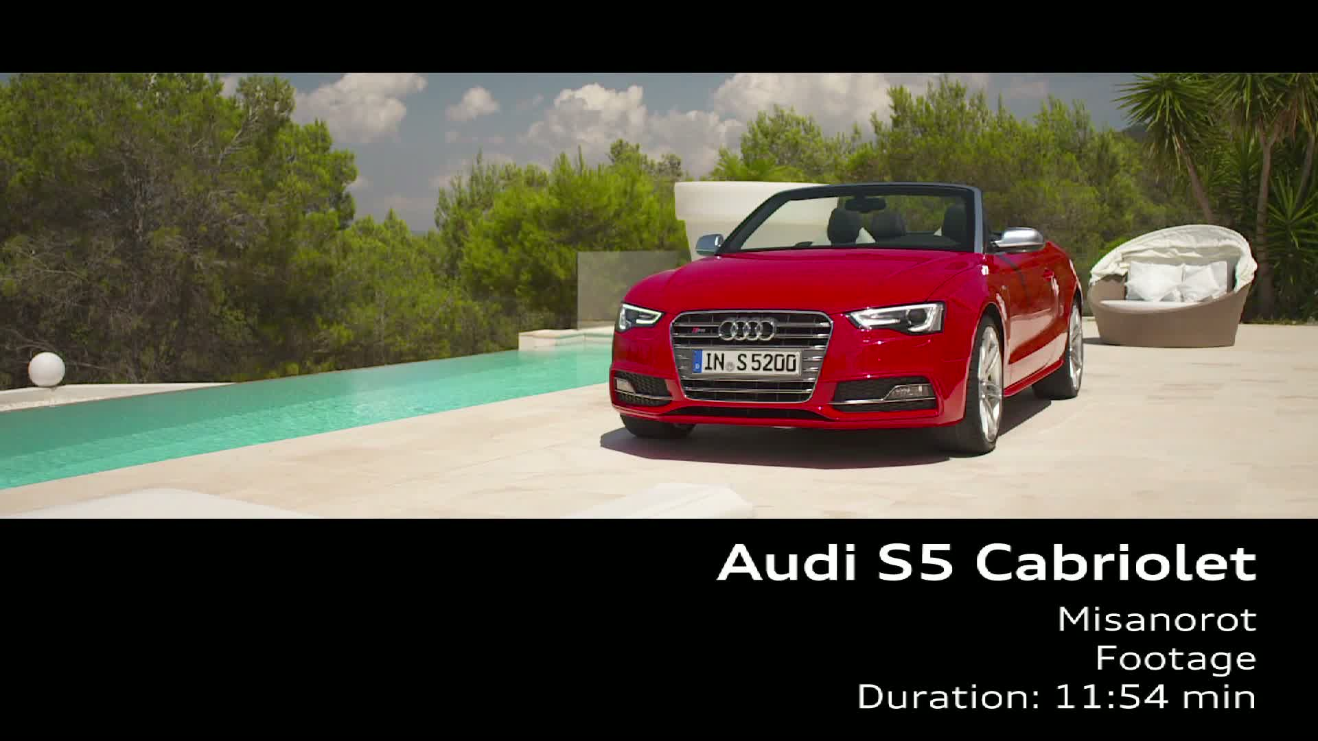The Audi S5 Cabriolet
