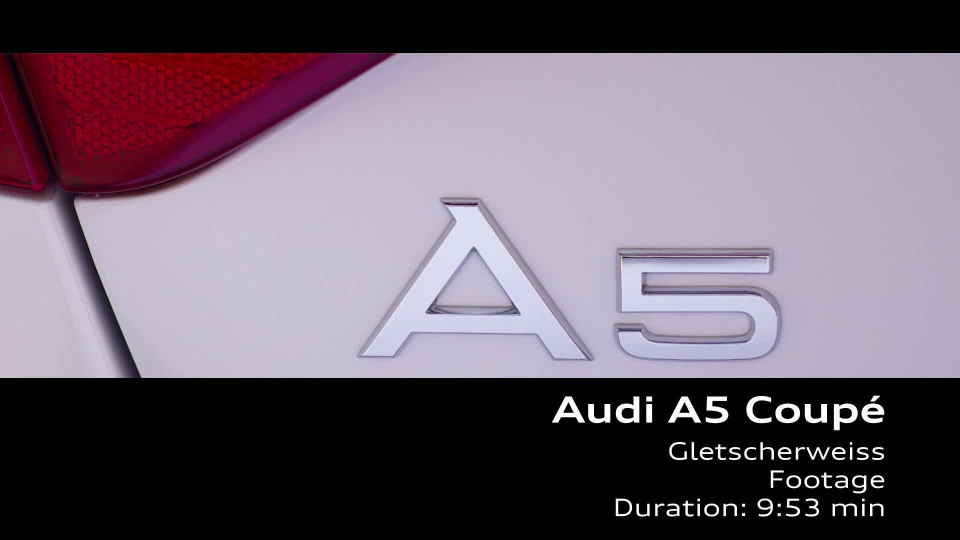 The Audi A5 Coupé