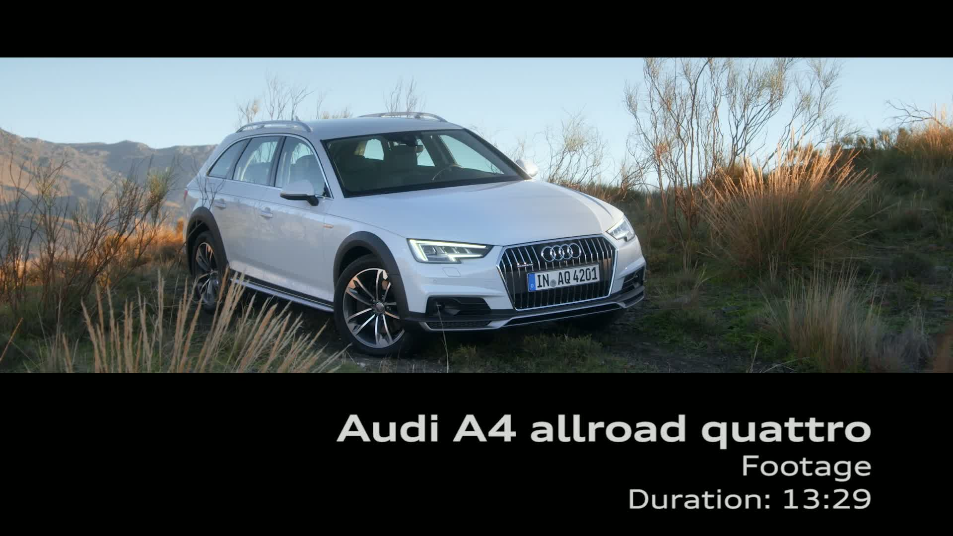 A4 allroad quattro - Footage