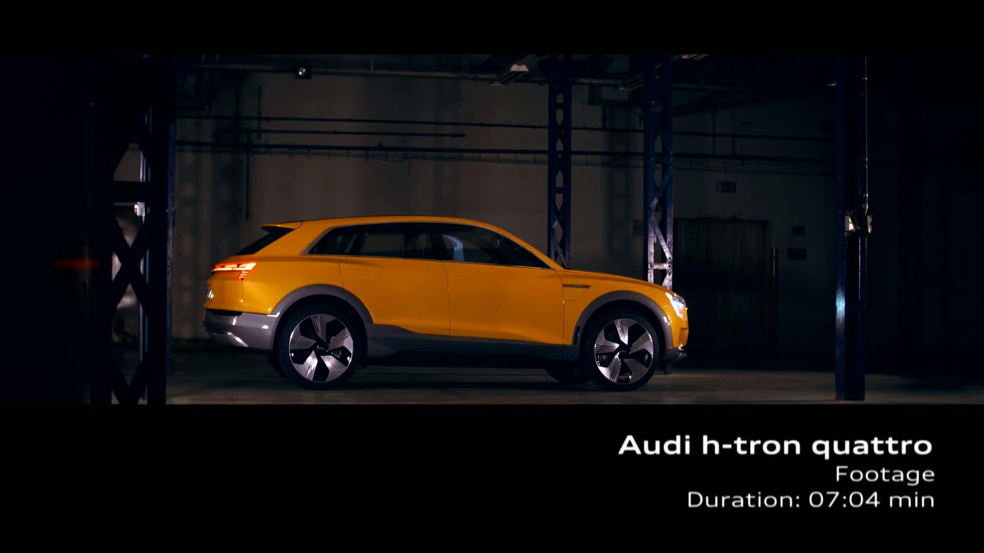 Audi h-tron quattro concept - Footage