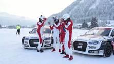 Kitzbühel - Sportstars begeistert vom Audi quattro #SuperQ