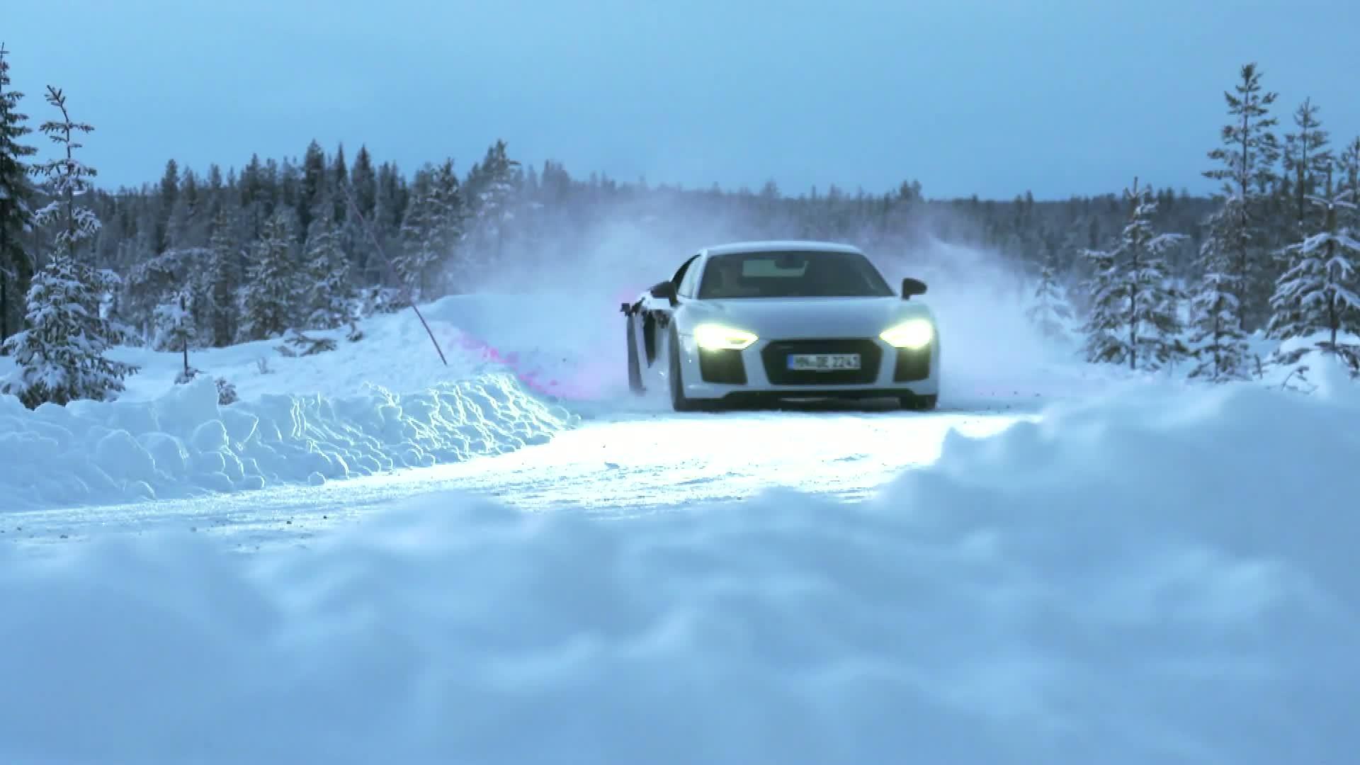Audi quattro Story – Teil 3 Der quattro auf Eis und Schnee