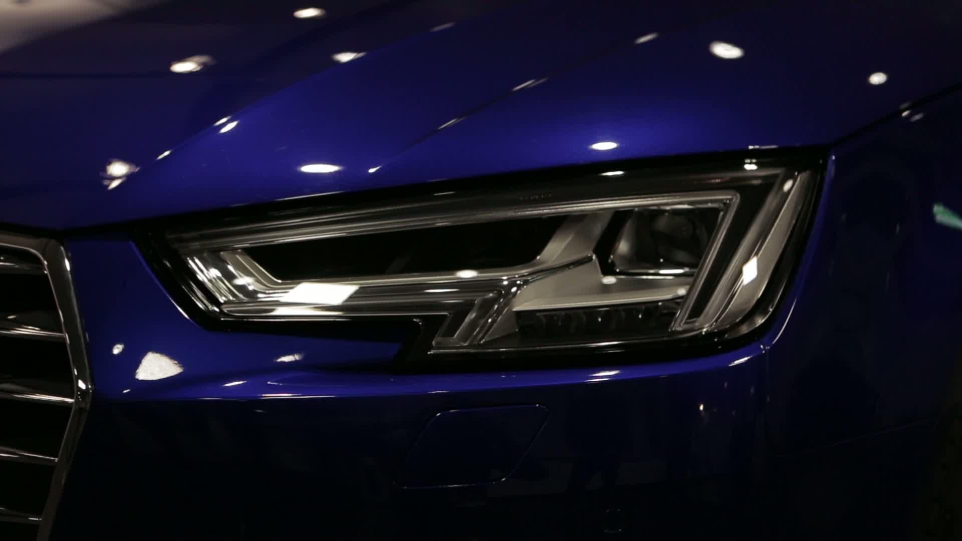 Wie der Audi seine Farbe bekommt