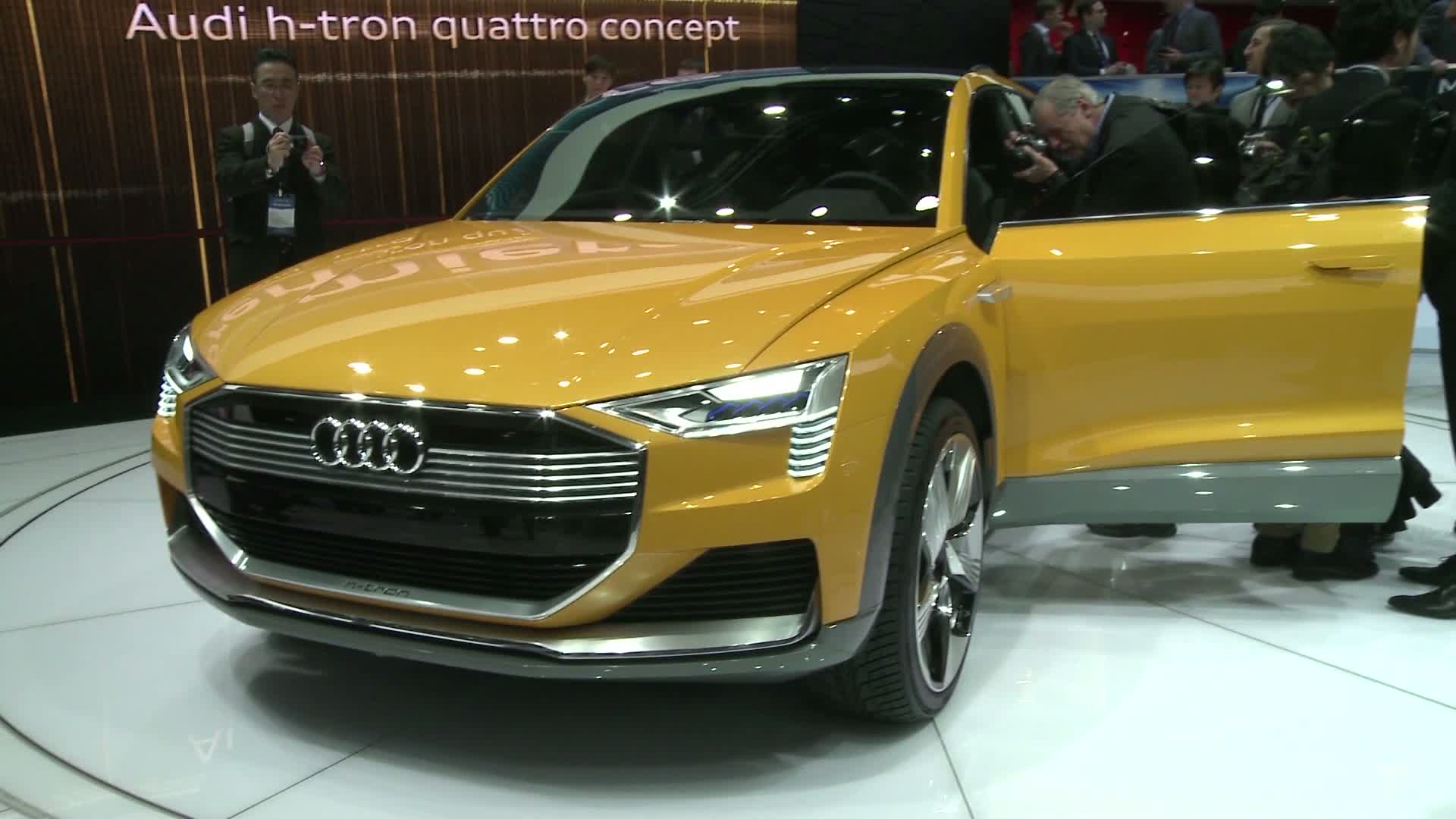 The Audi-highlights at the Detroit Motor Show