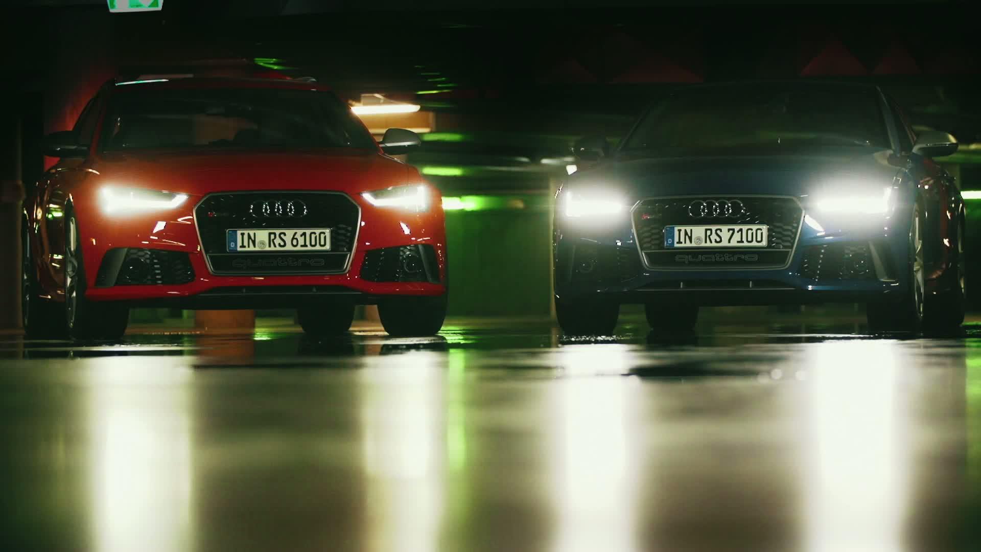 Audi RS 6 Avant performance und RS 7 Sportback performance