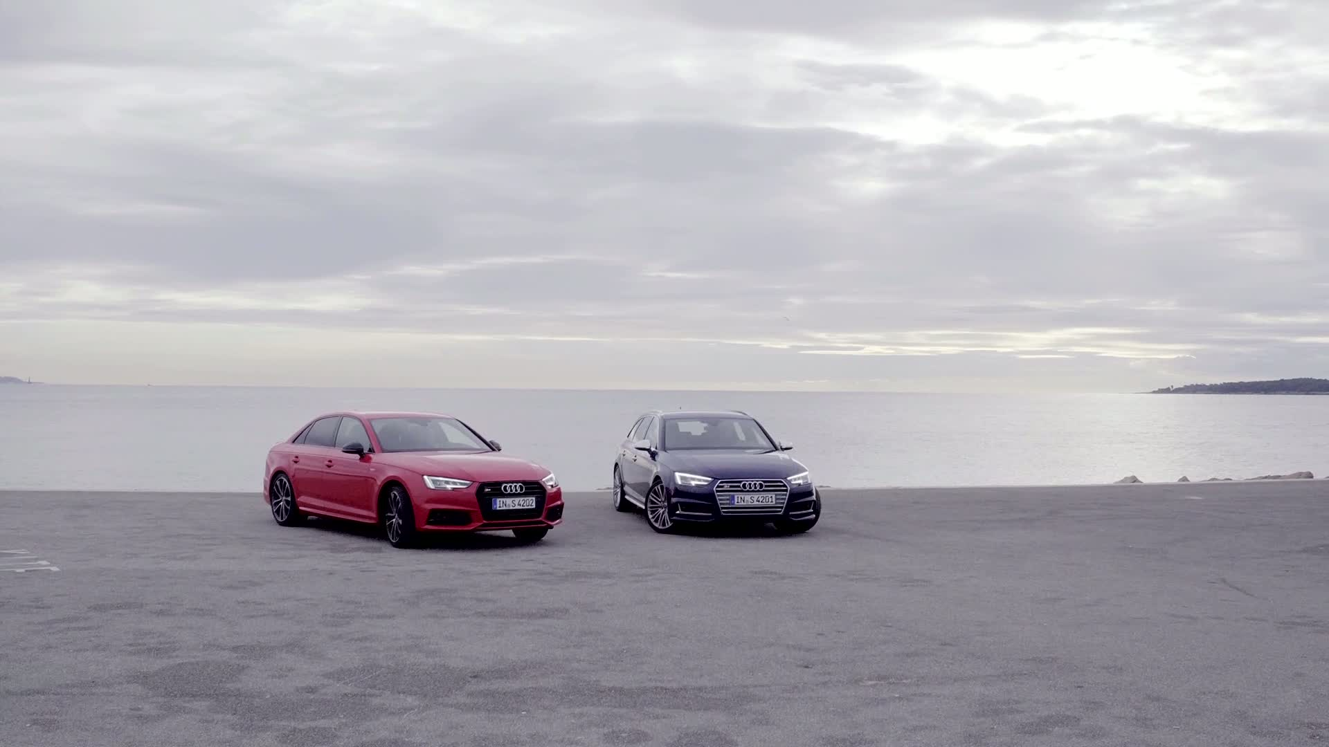 At the peak of the competitive field – the new Audi S4 and S4 Avant