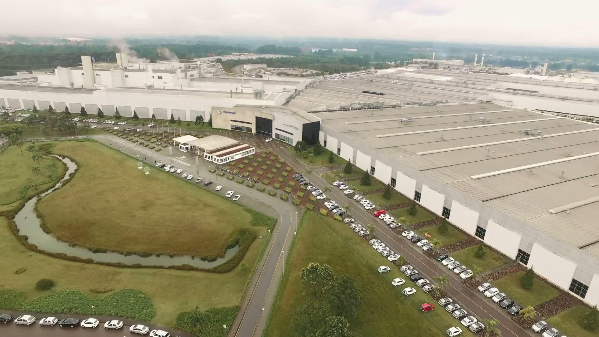 Audi-Produktion am Standort Curitiba