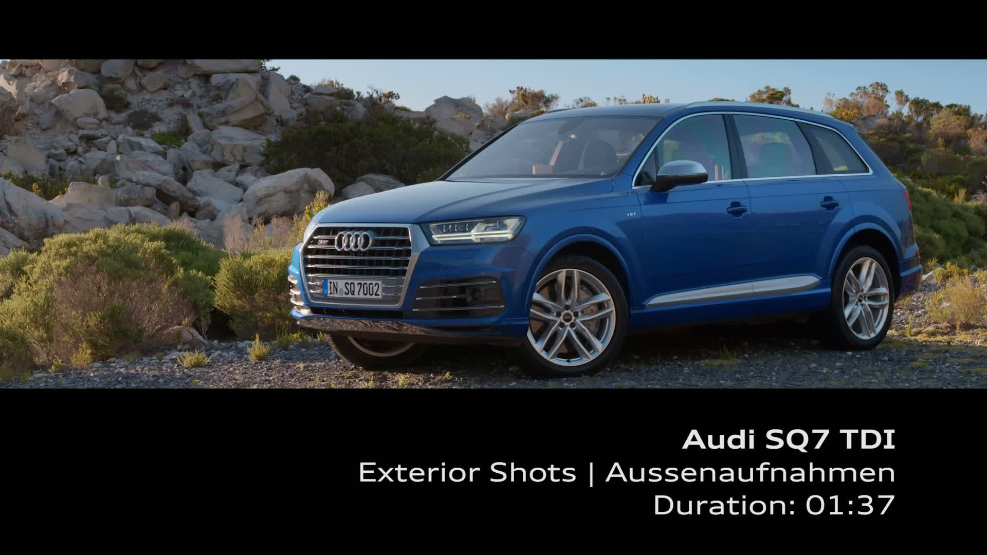 Audi SQ7 TDI - Footage