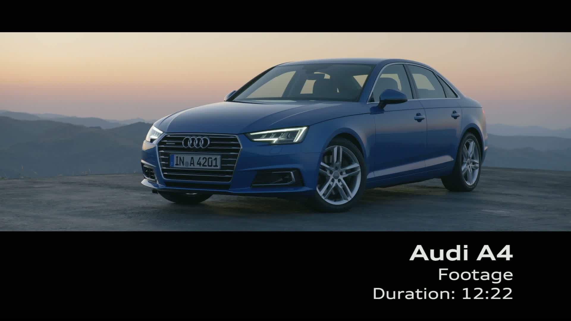 The new Audi A4 Sedan - Footage